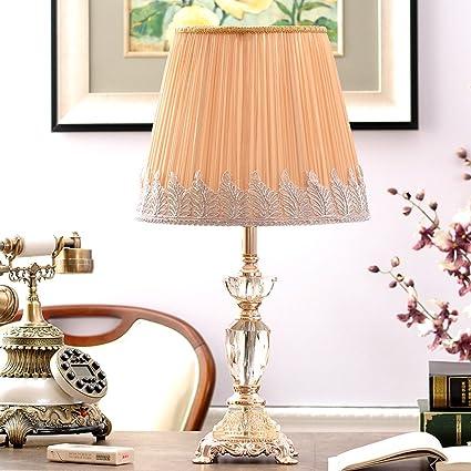 1411 XQQQ - Use Hat e27 Exquisita lámpara de Mesa de Cristal ...