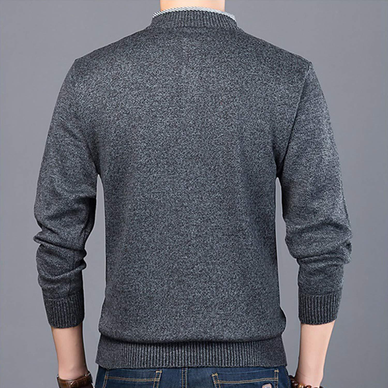 Ill NEVER BE HER Mens Christmas Sweater Men Winter 2019 Full Length Pullovers Knitting Wear