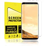 Galaxy S8 Screen Protector [2-Pack], iTURBOS Full Screen Coverage 3D PET HD Screen Protector Film for Samsung Galaxy S8