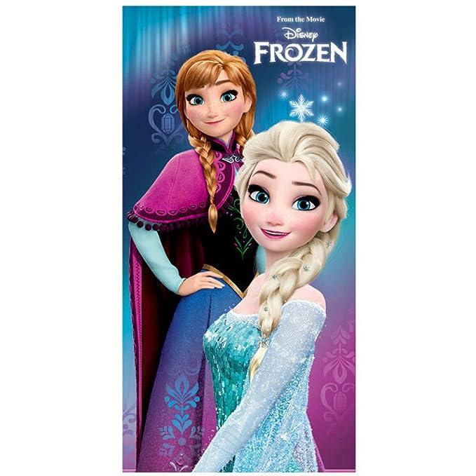 Disney Frozen Reine Elsa Duschtuch Serviette Serviette 70 x 120 cm