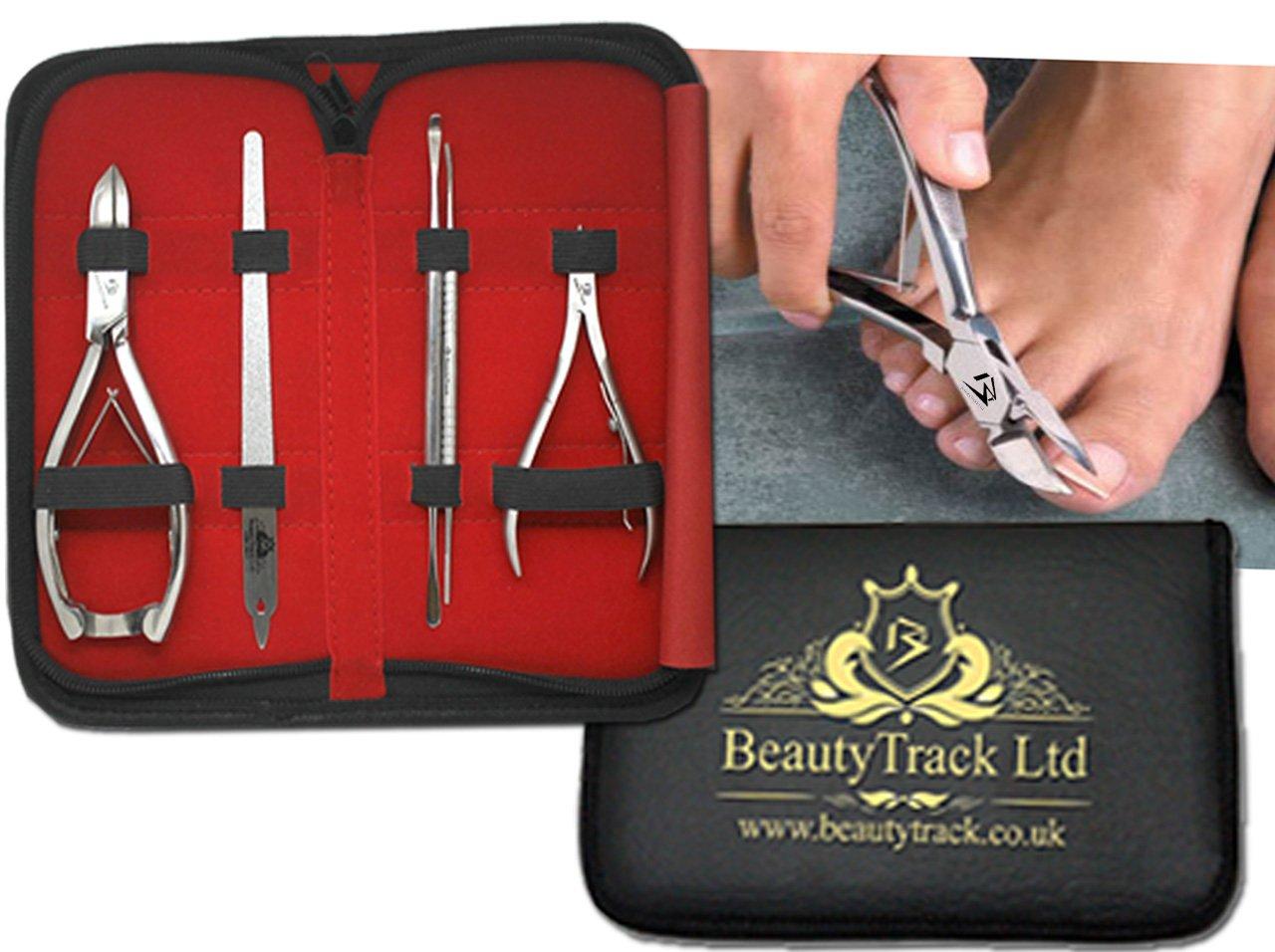 BeautyTrack Professionel verkörpert Nagelknipser Nagelschere Füße ...