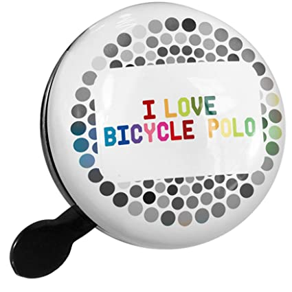 Amazon.com : NEONBLOND Bike Bell I Love Bicycle Polo ...