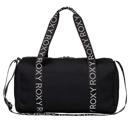 cbbb03d5a37a3e Amazon.com: Roxy True Black Moonfire - 19 Litre Womens Duffel Bag (Default,  Black): Clothing