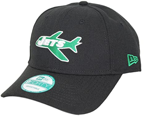 "83230233c62aac Image Unavailable. Image not available for. Color: New York Jets New Era  9Forty NFL ""Throwback"" Adjustable Hat"