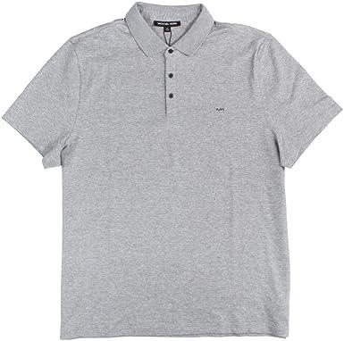 08f30771 Michael Kors Men's Soft Cotton Polo Shirt-HG-S at Amazon Men's Clothing  store: