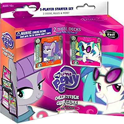 My Little Pony CCG: Rock N Rave 2-Player Starter Set: Toys & Games