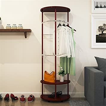 Kreative Regale garderobe mantel racks boden kleiderbügel kleiderständer kreative