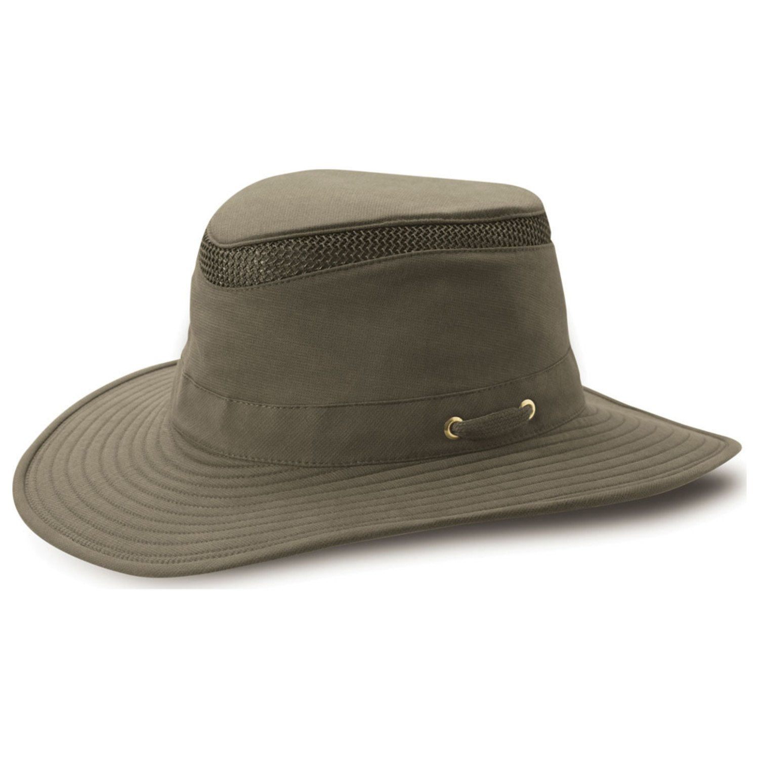 9a46be5c8c4 Tilley T4MO-1 Broad Curved Brim Hikers Hat - Olive