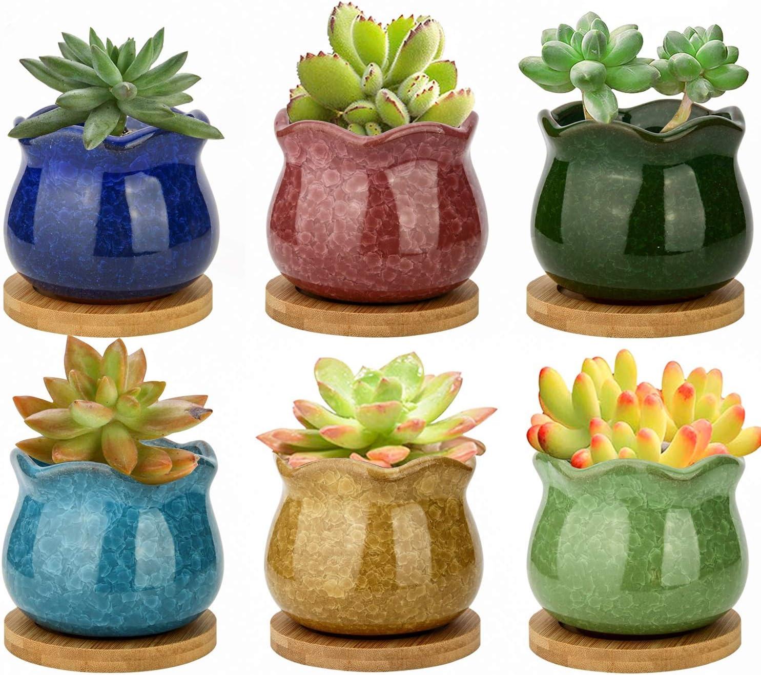 ZOUTOG Succulent Pots