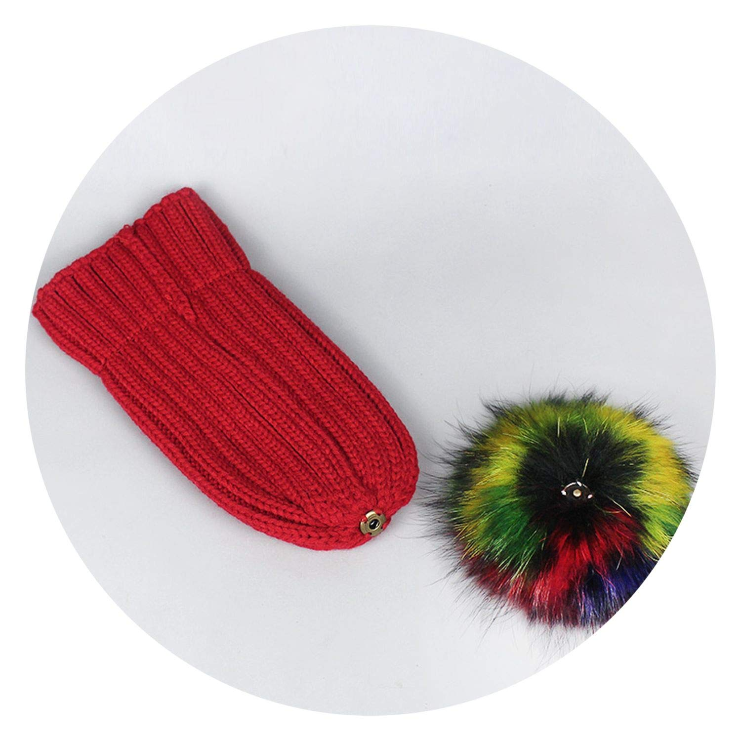 Hat Casual Crful Pom Pom Beanies Girls Pompon Fe Winter Warm Knit Skullies,Scarf Coffee,
