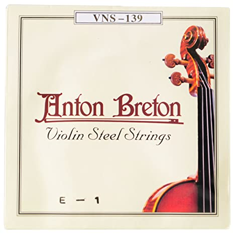 Anton Breton vns-139 de cuerdas para violín (acero inoxidable, tamaño mediano