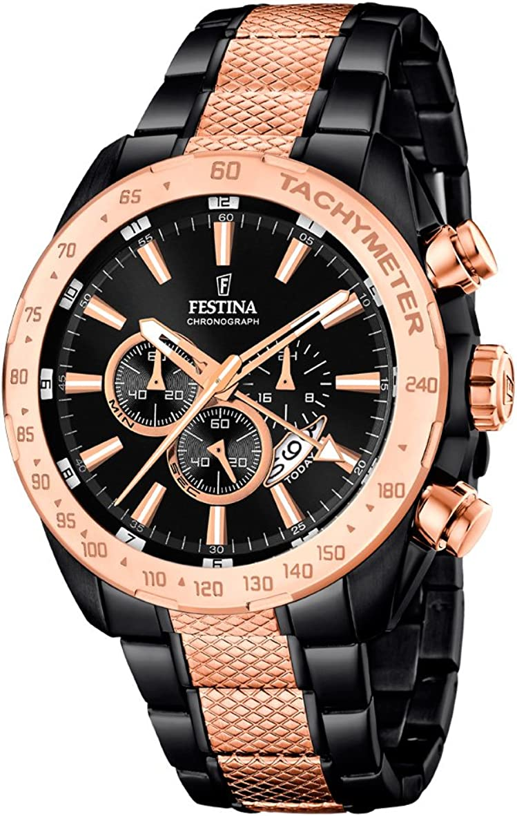 Festina Chrono Sport F16888 Max 42% At the price of surprise OFF 1 Time Zone Chronograph Mens Second