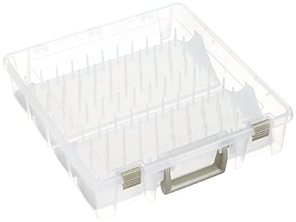 ArtBin Thread Box- Super Satchel Storage Container with two removable trays for thread spools  sc 1 st  Amazon.com & Amazon.com: ArtBin Thread Box- Super Satchel Storage Container with ...