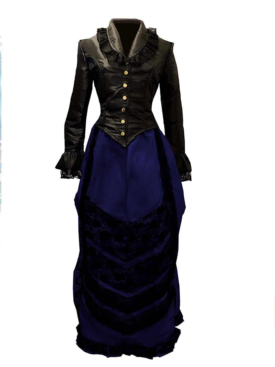 Victorian Dresses | Victorian Ballgowns | Victorian Clothing Reminisce Victorian Cosplay Costume $49.99 AT vintagedancer.com