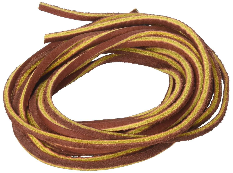 3fcffccad3bfc 3.5 mm Flat Genuine Leather Strip Cord String, Brown