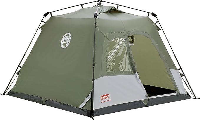 Coleman Mountain Warehouse Instant Tourer - Tienda de campaña (4 Personas) Green/White Talla:Talla única: Amazon.es: Deportes y aire libre