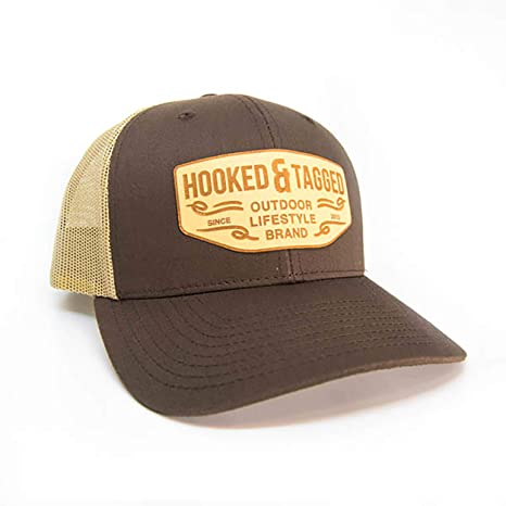 02cc6ff605c Amazon.com   Hooked   Tagged Snapback Trucker Hat - Outdoor ...