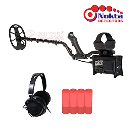 """Nokta FORS Core Pro Pack Professional Metal Detector with 5.2x4.7"""" coil,"""