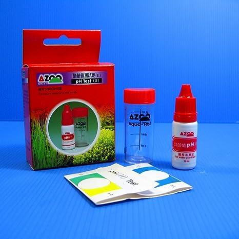 azoo Kit de prueba de pH 6 ~ 7.6 Pruebas de 57 Planta acuática de Acuario