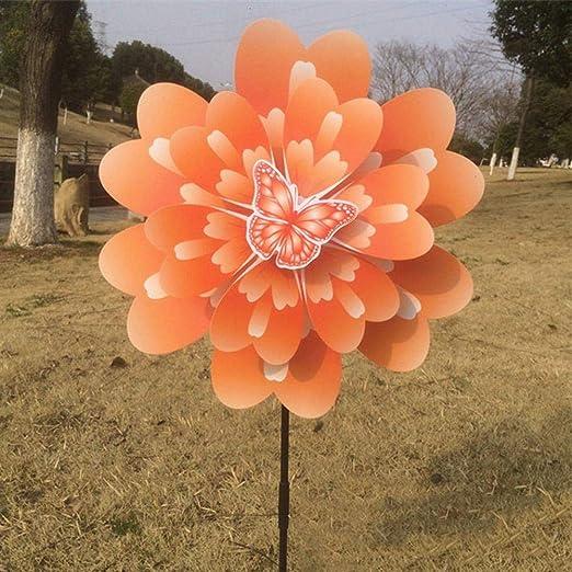 Uteruik - Molinillo de peonía para decoración de Fiestas, Jardines, Palomas, pájaros, espantapájaros y Lunares, 1 Unidad, Y-#9: Amazon.es: Hogar