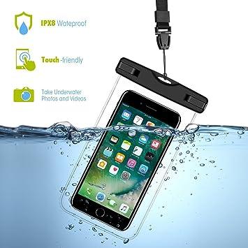 KingSnow - Funda resistente al agua para teléfono móvil, protección para buceo, nieve,