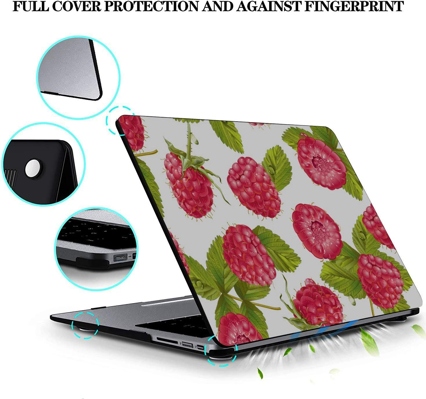 MacBook Pro Shell Summer Sweet Sour Create Berry Fruit Plastic Hard Shell Compatible Mac Air 11 Pro 13 15 Mac 13 Inch Case Protection for MacBook 2016-2019 Version