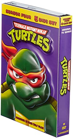 Teenage Mutant Ninja Turtles: Season 4 Reino Unido DVD ...