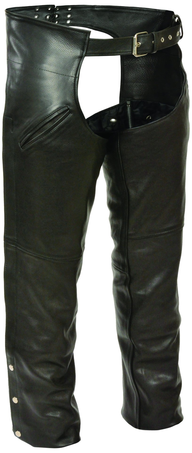 Milwaukee Leather- Men's Slash Pocket Chaps with Mesh Liner