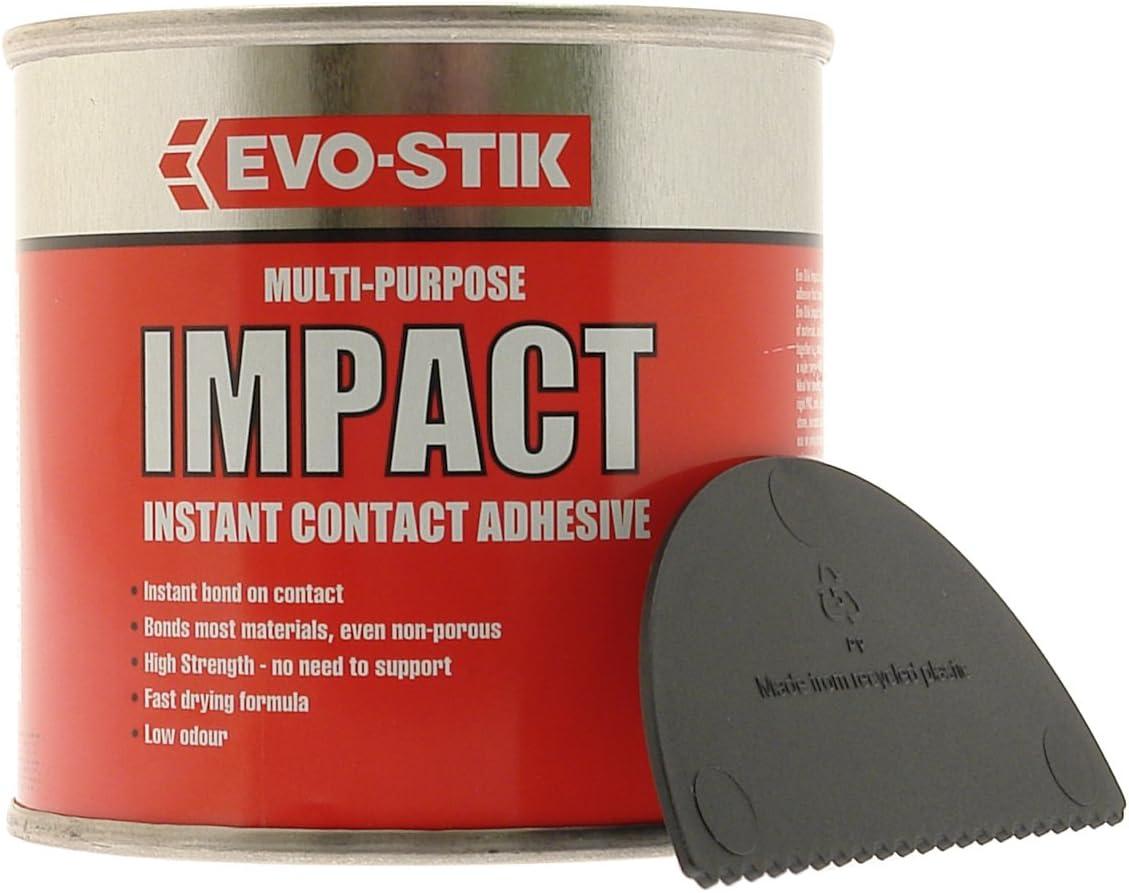 Evo Stik 250ml Impact Multi-Purpose Instant Contact Adhesive