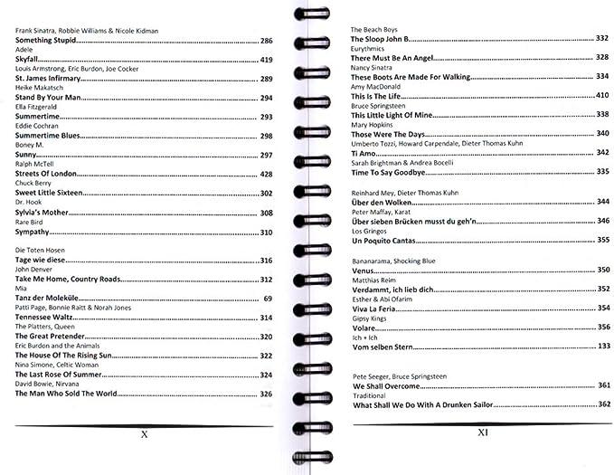 Oído Gusano de canciones de Sven Kessler – Songbook con notas ...