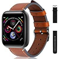"""Fullmosa Android IOS Smart Watch 1.3"""" Full Touch Screen Fitness Tracker, IP68 Waterproof Sport Watch, Bluetooth Activity…"""