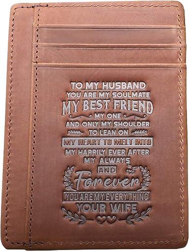 WALLET for HUSBAND MENS Wallet Husband Slim Husband Wallet Husband Bifold Wallet Best Husband Wallet Thin Husband Wallet Husband Coin Wallet