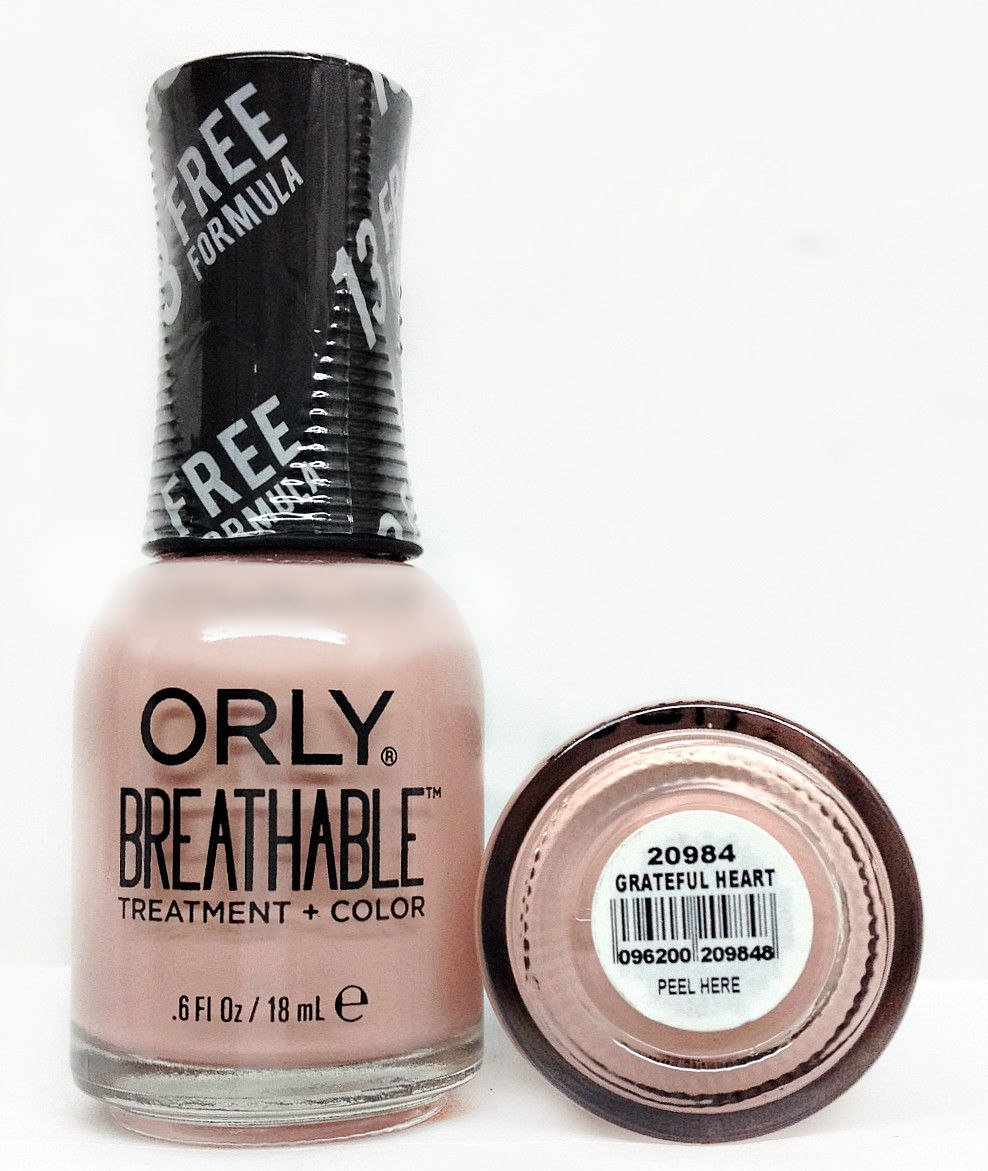 ORLY BREATHABLE NAIL POLISH BY QUO SWATCHES AND REVIEW