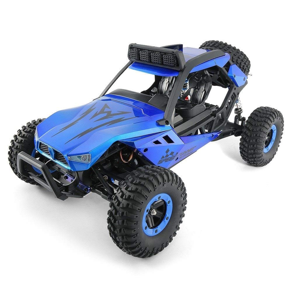 TBFEI 1/12 All Fields Drift RC Racing Car RTR Toy Christmas Birthday Dream Gift for Children and Adults-38.52318cm 4WD 45Km/k High Speed RC Violent Off-Road Racing (Color : Blue) by TBFEI (Image #1)