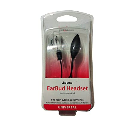 Verizon Universal Earbud Headset 2.5mm Plug