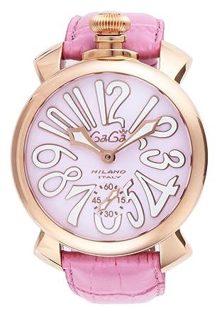 half off 3cc5c 6228d Amazon | [ガガミラノ]GAGA MILANO 腕時計 マニュアーレ48mm ...