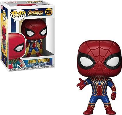 Iron Spider With Nano Gauntlet Funko Pop Vinyl Marvel Avengers Endgame