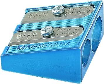 color azul KUM az104.05.19/de B doble sacapuntas 475/Color B de magnesio, 1/unidades