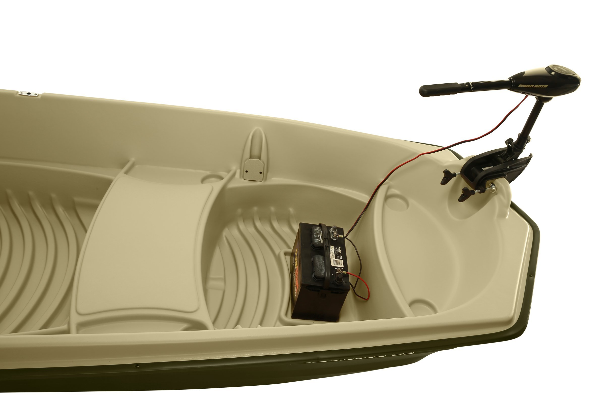 Sun Dolphin American 12 Jon Fishing Boat (Beige/Green, 12-Feet) by Sun Dolphin (Image #4)