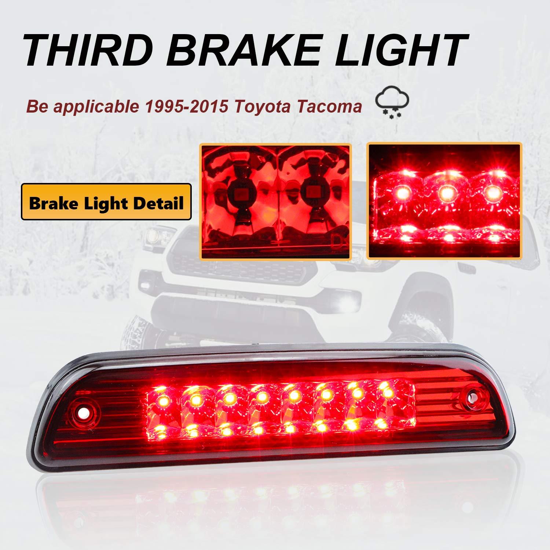 05-10 Jeep Grand Cherokee DNA motoring Red 3BL-JGC05-LED-RD LED Third Brake Light