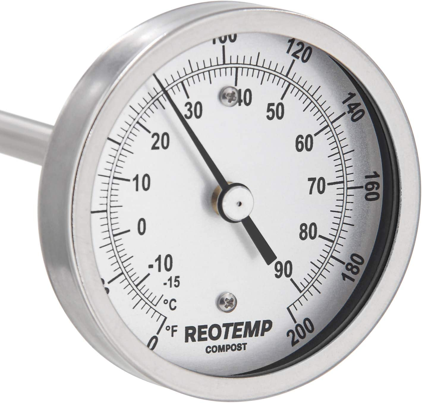 REOTEMP Heavy Duty Compost Thermometer