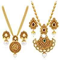 Sukkhi Jewellery Set for Women (Golden)(388CB1400)