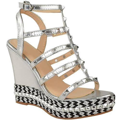 Precio Barato De Italia Visitar El Nuevo Calzature & Accessori argentati per donna Fashion thirsty Barato BF01K3CI3m