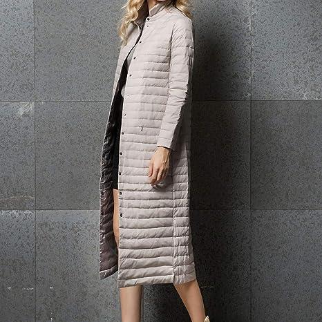 Amazon.com: Womens Coats Winter Clearance!Besde Womens Fashion Casual Warm Lightweight Outwear Packable Down Coat Stand Collar Long Down Jacket: Beauty