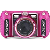 VTech KidiZoom Duo DX Digital Selfie Camera with MP3 Player, Pink