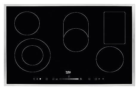 vente chaude en ligne 0ddf6 06749 Beko HIC 85502 T Plaque/électrique: Amazon.fr: Gros ...
