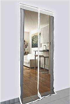 Provence Outillage 5244 - Mosquitera para puerta (con imanes, 2 ...
