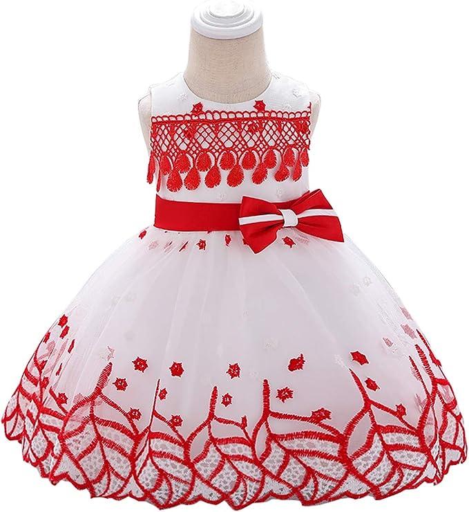 LADYLUCK Vestido De Niñas Vestido De Fiesta De Cumpleaños con ...