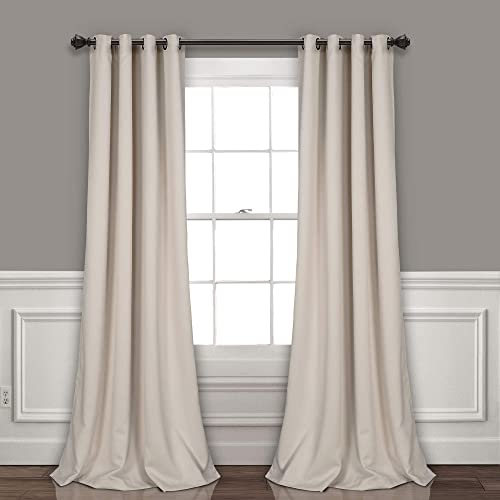 Lush Decor Wheat Curtains-Grommet Panel