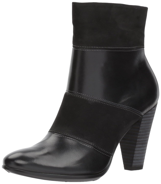 ECCO Women's Women's Shape 75 Modern Ankle Bootie B01N9VAPZH 41 EU / 10-10.5 US|Black/Black